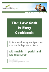 The Low Carb is Easy Cookbook